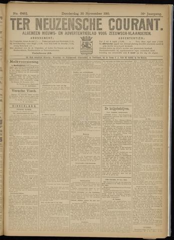 Ter Neuzensche Courant. Algemeen Nieuws- en Advertentieblad voor Zeeuwsch-Vlaanderen / Neuzensche Courant ... (idem) / (Algemeen) nieuws en advertentieblad voor Zeeuwsch-Vlaanderen 1916-11-30