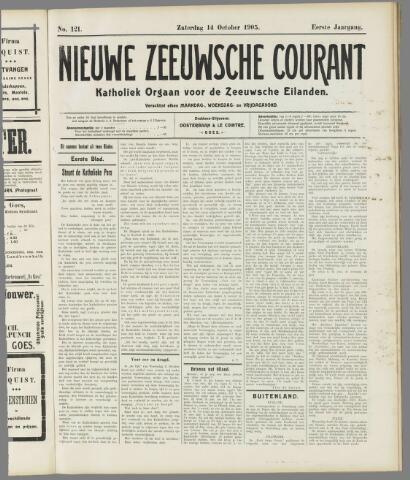 Nieuwe Zeeuwsche Courant 1905-10-14
