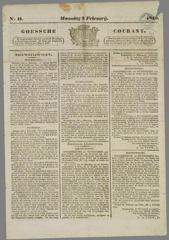Goessche Courant 1849-02-05