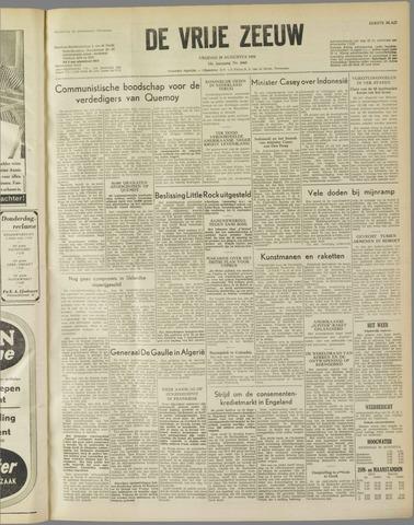 de Vrije Zeeuw 1958-08-29