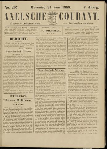 Axelsche Courant 1888-06-27