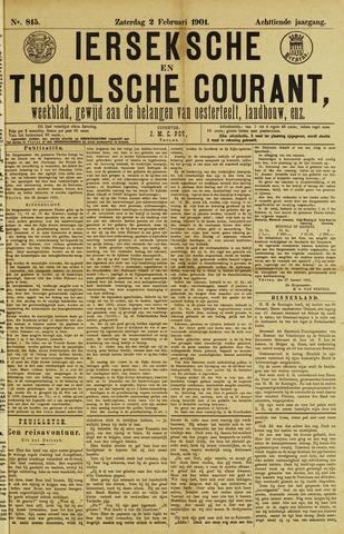 Ierseksche en Thoolsche Courant 1901-02-02