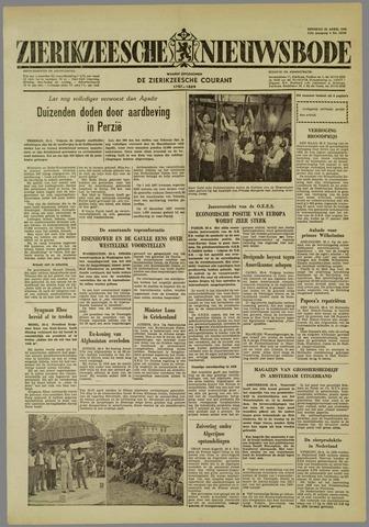 Zierikzeesche Nieuwsbode 1960-04-26