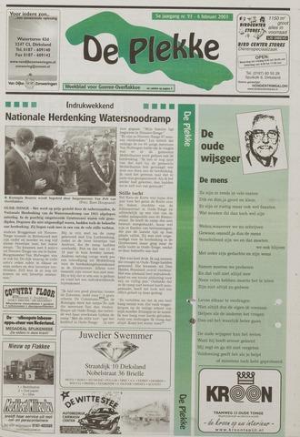 Watersnood documentatie 1953 - kranten 2003-02-04