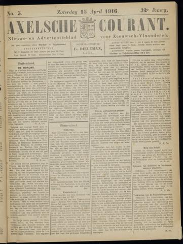 Axelsche Courant 1916-04-15