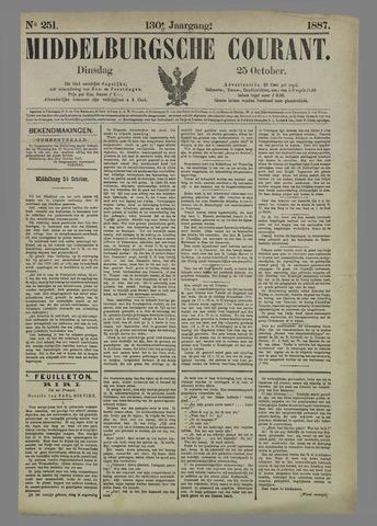 Middelburgsche Courant 1887-10-25