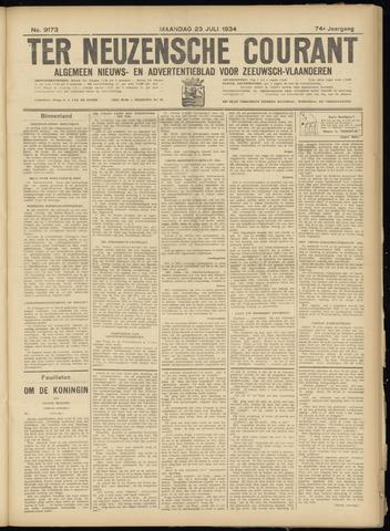 Ter Neuzensche Courant. Algemeen Nieuws- en Advertentieblad voor Zeeuwsch-Vlaanderen / Neuzensche Courant ... (idem) / (Algemeen) nieuws en advertentieblad voor Zeeuwsch-Vlaanderen 1934-07-23