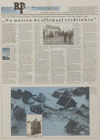 Watersnood documentatie 1953 - kranten 1993-01-29