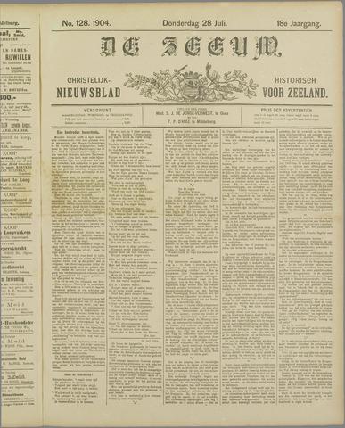 De Zeeuw. Christelijk-historisch nieuwsblad voor Zeeland 1904-07-28