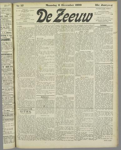 De Zeeuw. Christelijk-historisch nieuwsblad voor Zeeland 1920-12-06