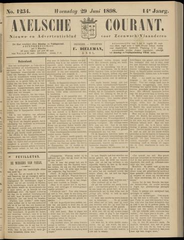Axelsche Courant 1898-06-29