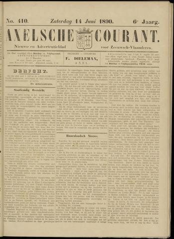 Axelsche Courant 1890-06-14