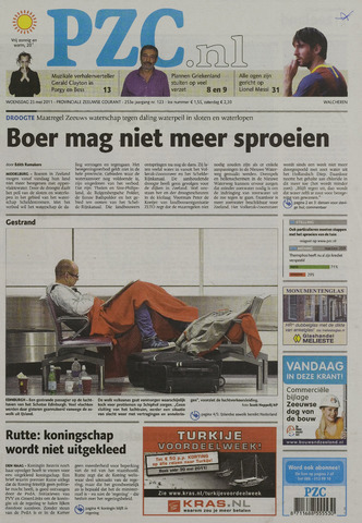 Provinciale Zeeuwse Courant 2011-05-25