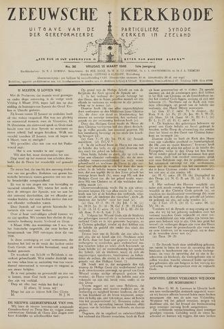 Zeeuwsche kerkbode, weekblad gewijd aan de belangen der gereformeerde kerken/ Zeeuwsch kerkblad 1946-03-15
