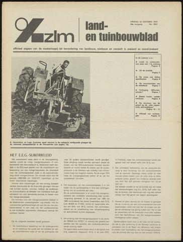 Zeeuwsch landbouwblad ... ZLM land- en tuinbouwblad 1970-10-21