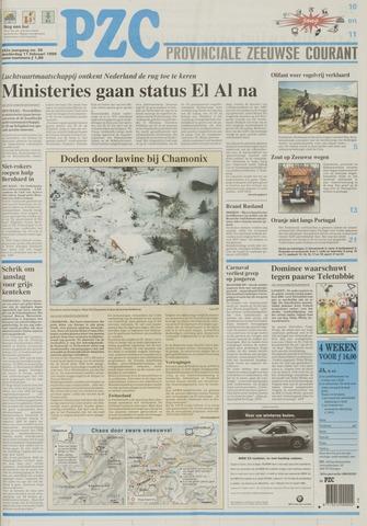 Provinciale Zeeuwse Courant 1999-02-11