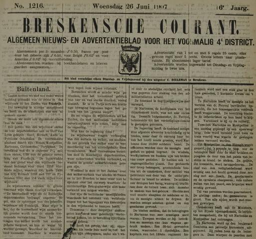 Breskensche Courant 1907-06-26
