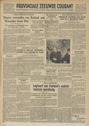Provinciale Zeeuwse Courant 1951-05-11