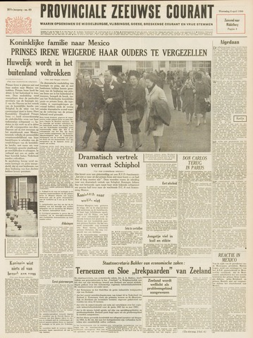 Provinciale Zeeuwse Courant 1964-04-08