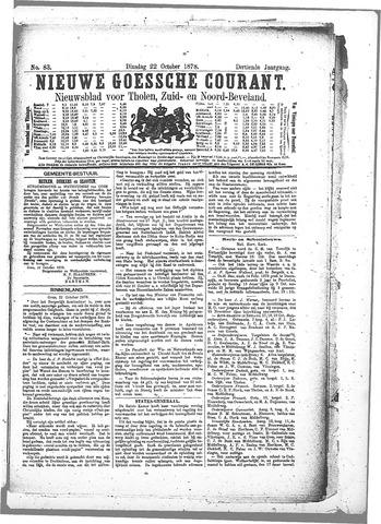 Nieuwe Goessche Courant 1878-10-22