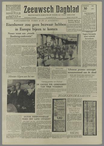 Zeeuwsch Dagblad 1958-07-30