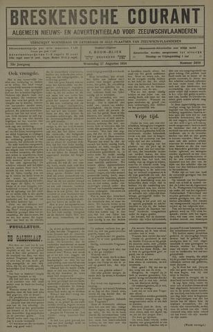 Breskensche Courant 1924-08-27