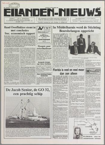 Eilanden-nieuws. Christelijk streekblad op gereformeerde grondslag 1989-11-14