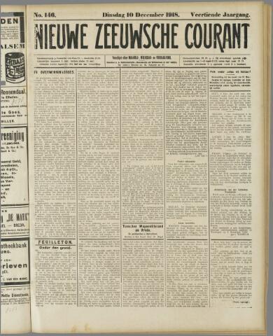 Nieuwe Zeeuwsche Courant 1918-12-10