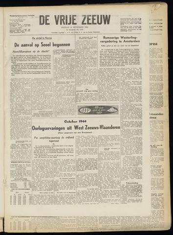 de Vrije Zeeuw 1950-09-22