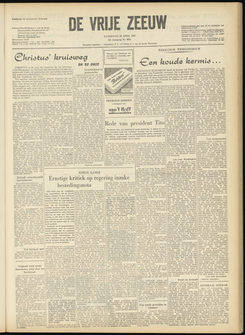 de Vrije Zeeuw 1957-04-20