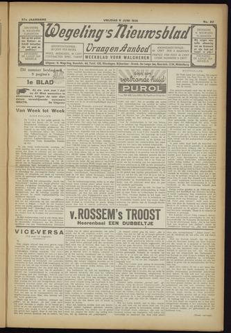 Zeeuwsch Nieuwsblad/Wegeling's Nieuwsblad 1931-06-05