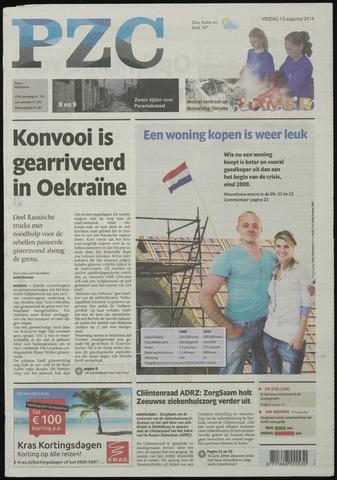 Provinciale Zeeuwse Courant 2014-08-15
