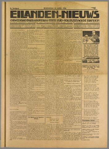 Eilanden-nieuws. Christelijk streekblad op gereformeerde grondslag 1936-04-22
