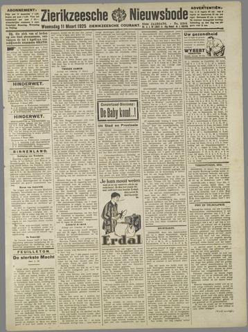 Zierikzeesche Nieuwsbode 1925-03-11