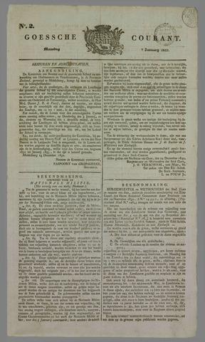 Goessche Courant 1833-01-07