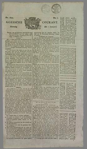 Goessche Courant 1827