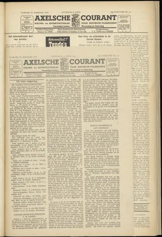 Axelsche Courant 1950-04-05