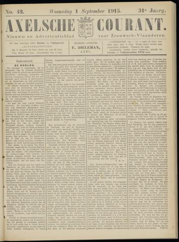 Axelsche Courant 1915-09-01