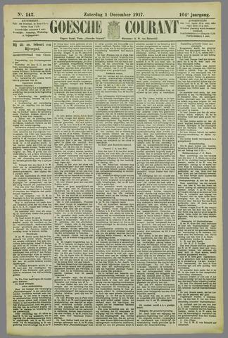 Goessche Courant 1917-12-01