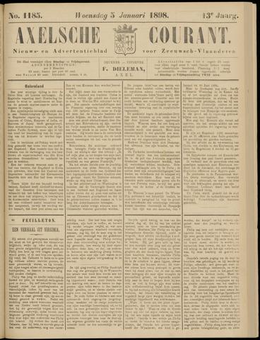 Axelsche Courant 1898-01-05