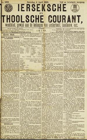 Ierseksche en Thoolsche Courant 1908-04-04