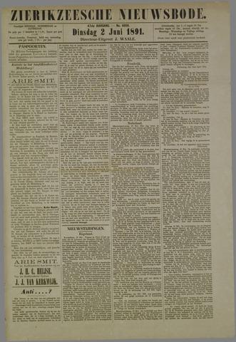 Zierikzeesche Nieuwsbode 1891-06-02