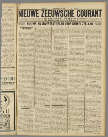 Nieuwe Zeeuwsche Courant 1932-07-21