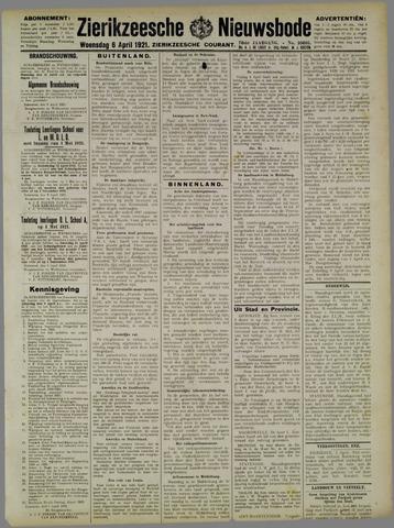Zierikzeesche Nieuwsbode 1921-04-06