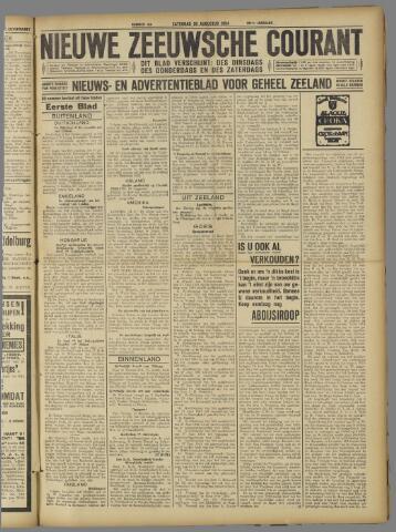 Nieuwe Zeeuwsche Courant 1924-08-30