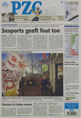 Provinciale Zeeuwse Courant 2011-01-04