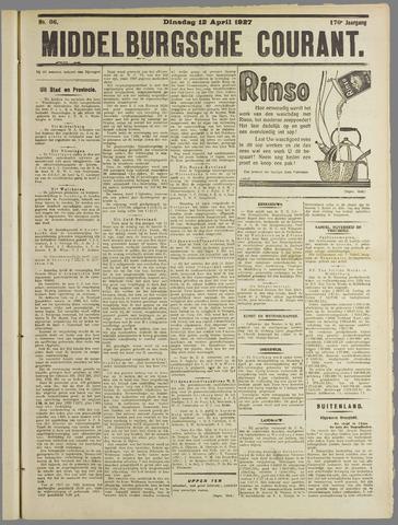 Middelburgsche Courant 1927-04-12