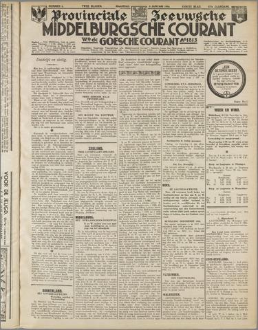 Middelburgsche Courant 1934-01-08