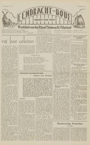 Eendrachtbode (1945-heden)/Mededeelingenblad voor het eiland Tholen (1944/45) 1949-10-28