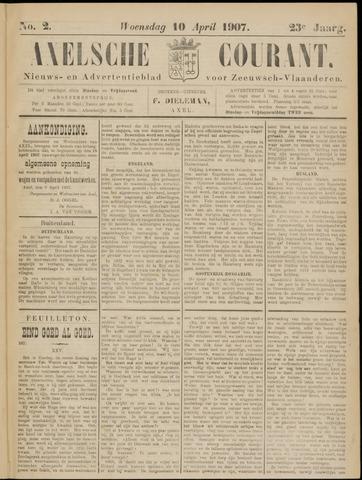 Axelsche Courant 1907-04-10